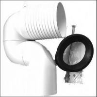 Vario Drain Bend for vertical outlet 70 - 150 mm