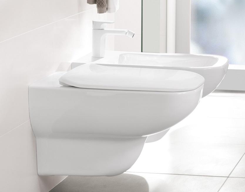 Villeroy Boch Joyce Soft Close Toilet Seat 9m62 S1
