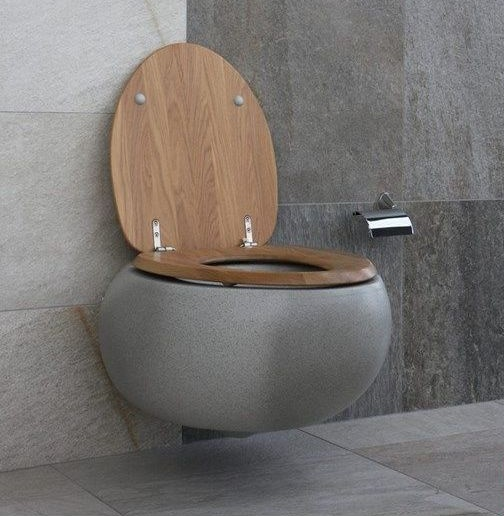 Astounding Villeroy Boch Pure Stone Toilet Seat 98M1 S1 Villeroy Creativecarmelina Interior Chair Design Creativecarmelinacom